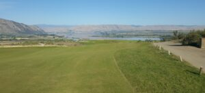 Hole #2 at Gamble Sands