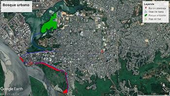 (imagen 2, Jorge Restrepo, Google earth)