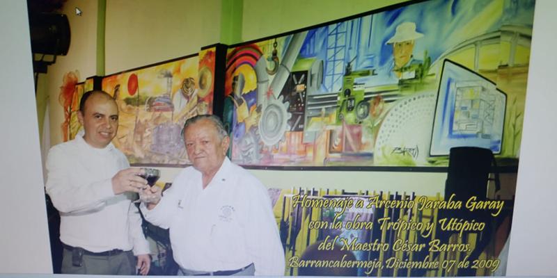 Don Arsenio Jaraba, alma y nervio del Fandango de la 24 – (Por: Pedro Severiche)