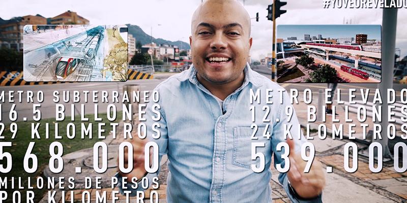 Corrupción en el metro elevado para Bogotá, cinco claves – #ReveladosLaColumna
