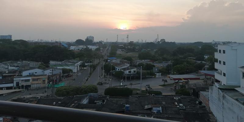 Desde el balcón ... en medio de la pandemia – (Por: Alberto Cotes Acosta)