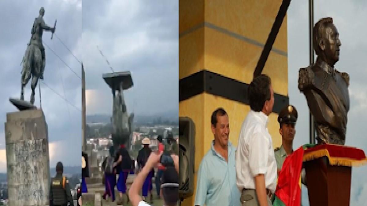 ¡Derriben también la estatua de Aguilar! – Por: Jorge Gómez P