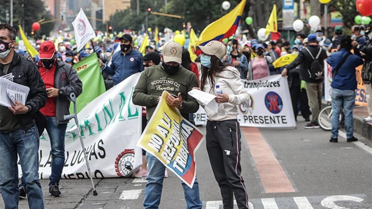 Los trabajadores colombianos podemos hacer más en este paro – Por: Edwin Palma E