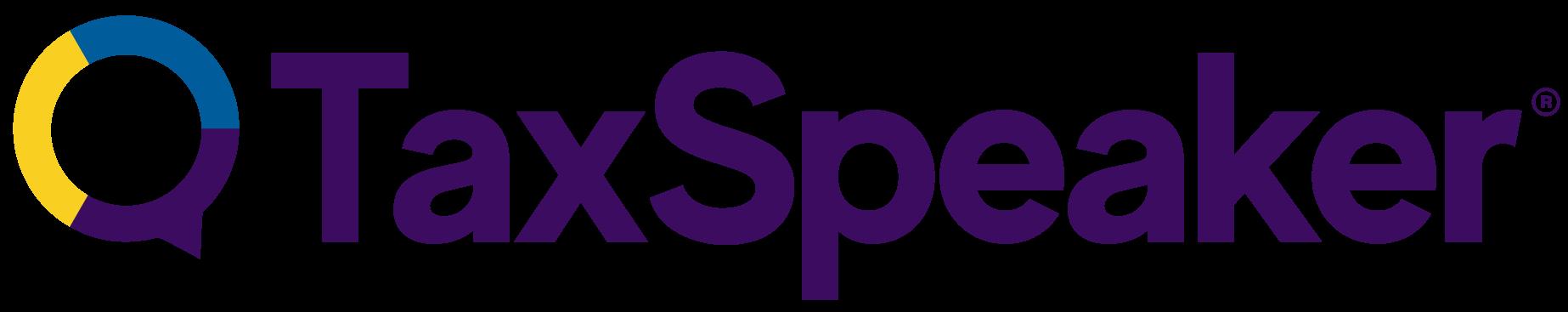 tax speaker logo - affiliate partner