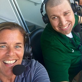 Loyola Women's Soccer underway from Ridley Athletic with Glenn Clark at my side!