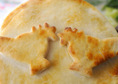Kissing Chicken Potpies