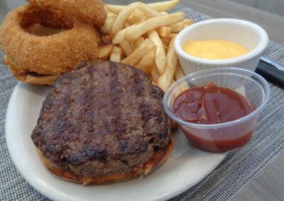 OK = Bronco Burger