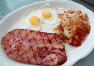 OK - Ham Steak & Eggs