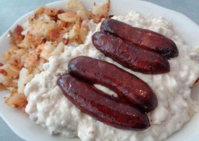 OK - Sausage Biscuits & Gravy
