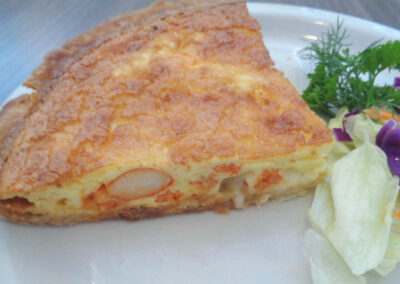 ok - Lobster Quiche