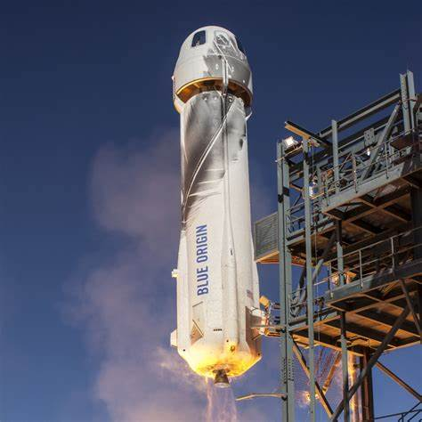 Blue Origin – Mission NS-12 Launch and Landing