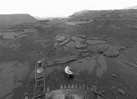 Soviet Era Space Probe Finds a Mysterious Disc on Venus,  but not Life as First Thought