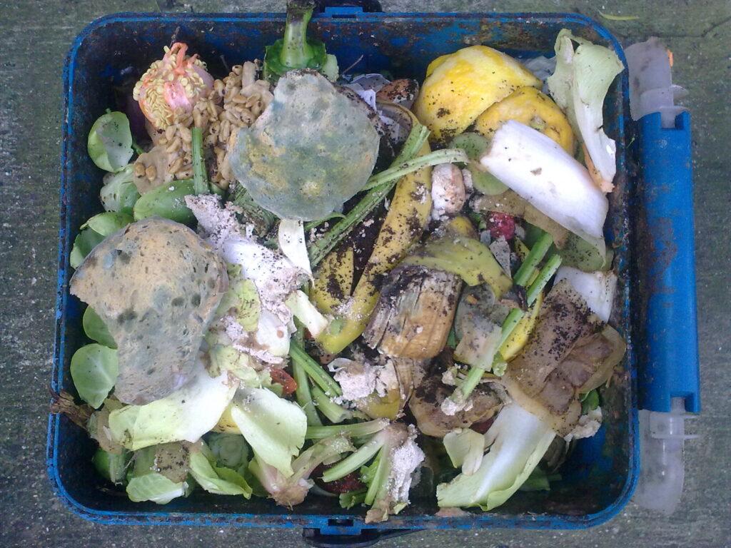 US household food waste