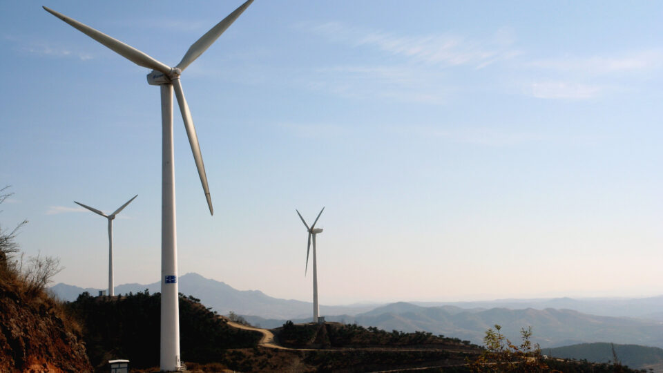 China rapidly adopts solar and wind power