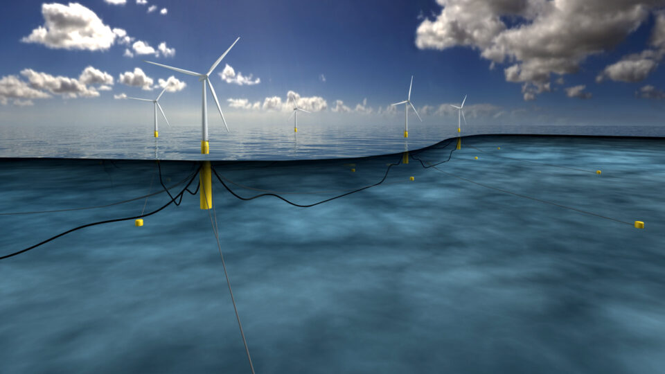 floating wind turbines