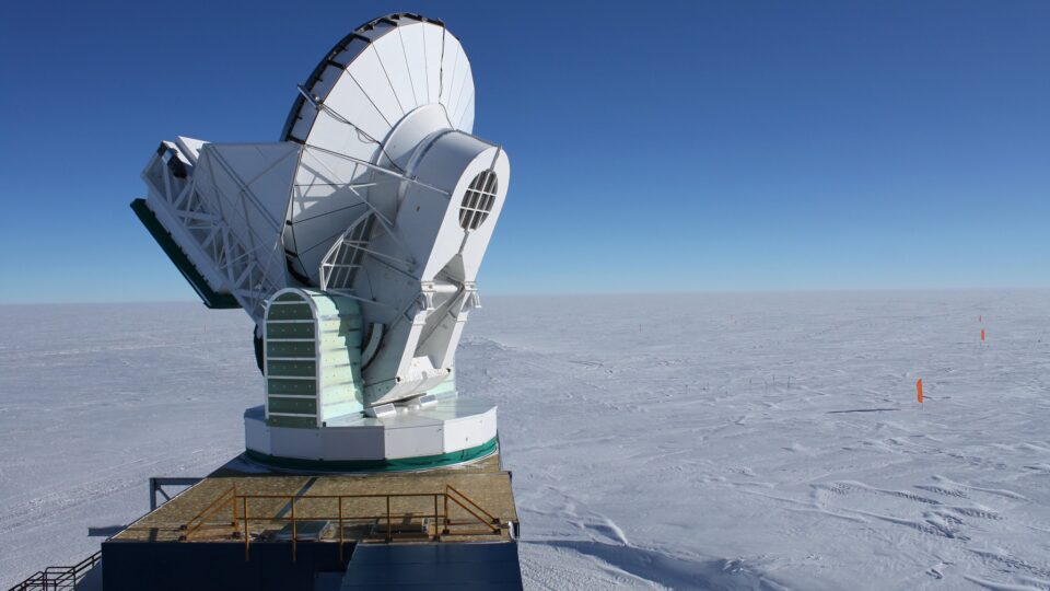Extreme warming at the South Pole
