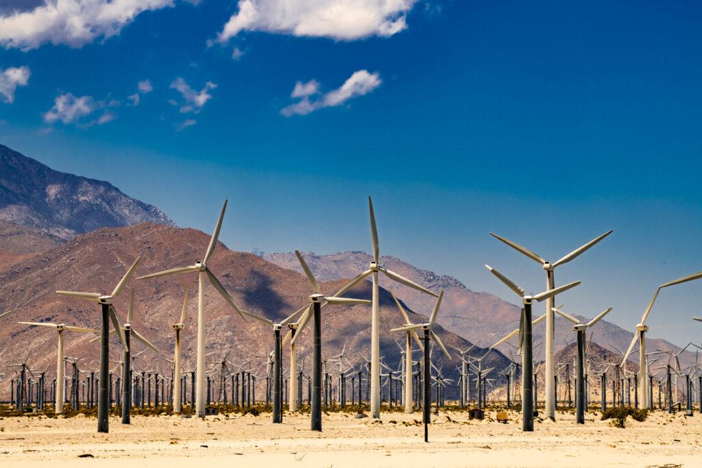 Renewable energy taking over