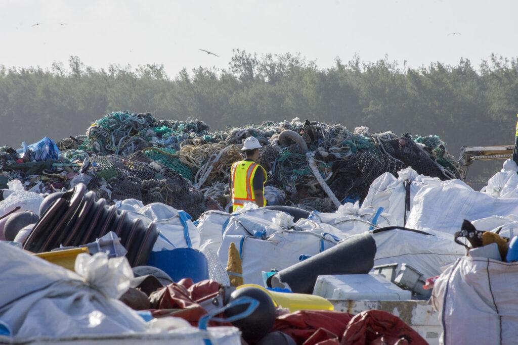 Breaking down plastic