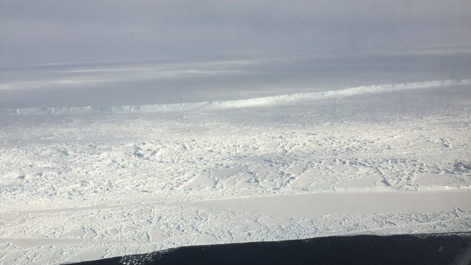 A giant iceberg has broken free