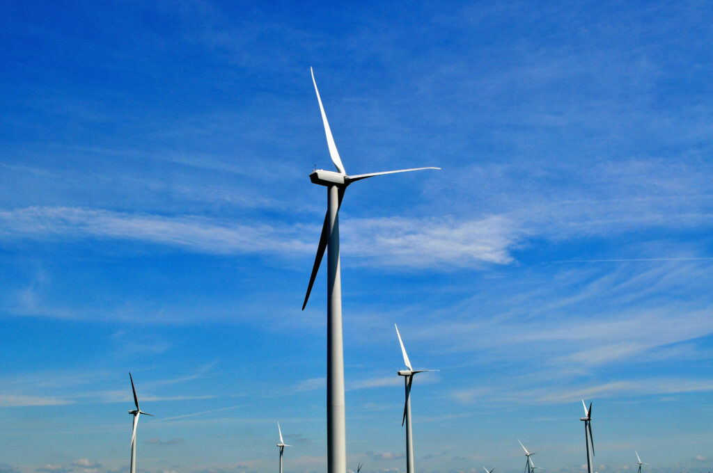 Record setting United States wind power production