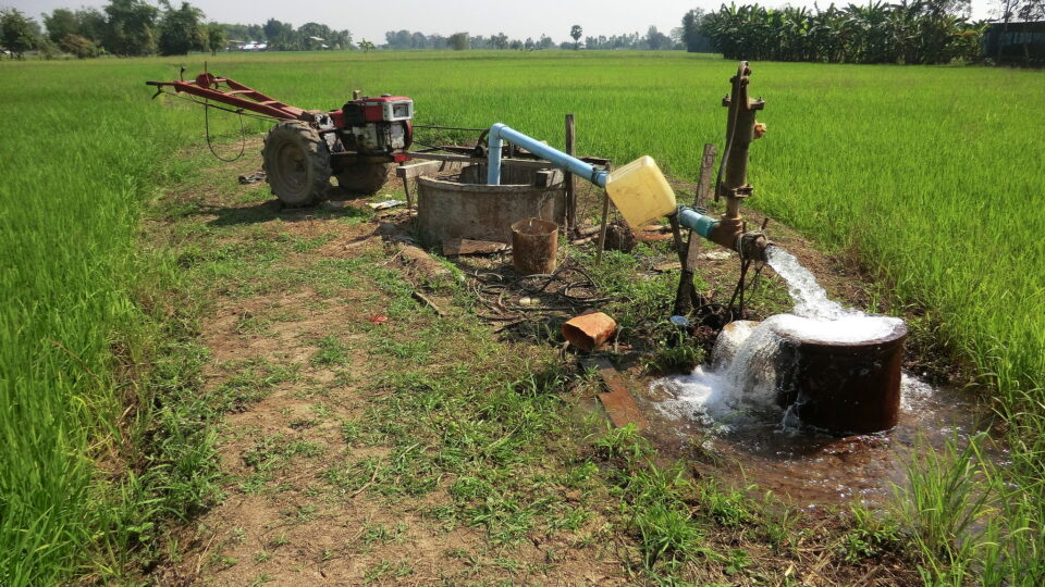 Groundwater wells are at risk