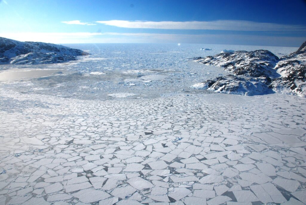 Greenland is becoming darker and warmer