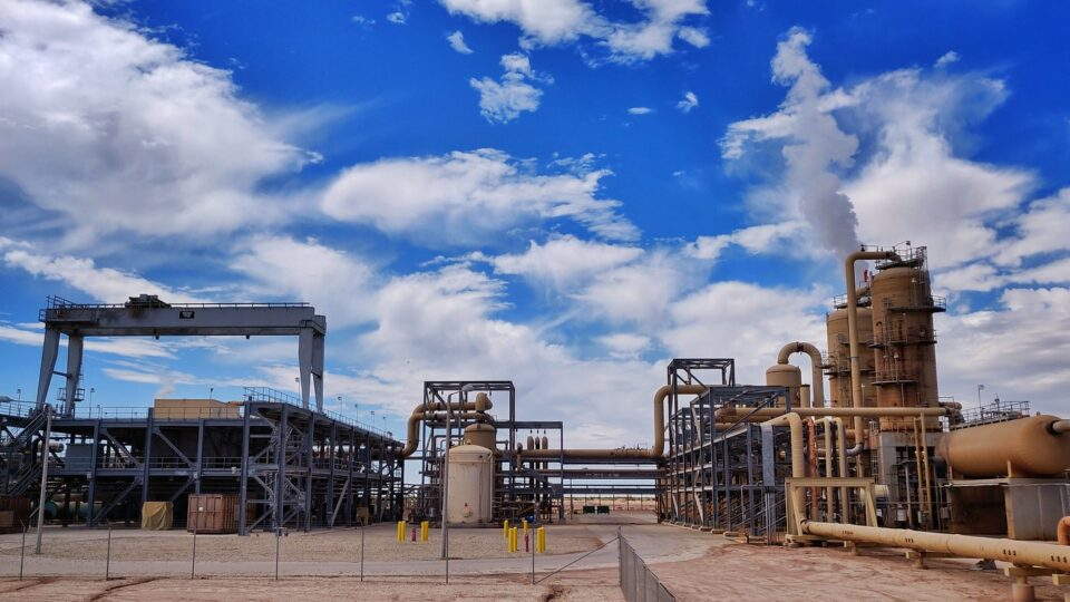 Large decrease in United States power sector emissions