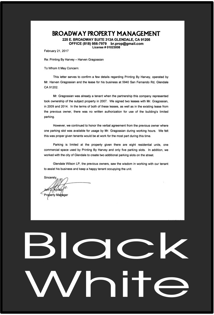 Black: White