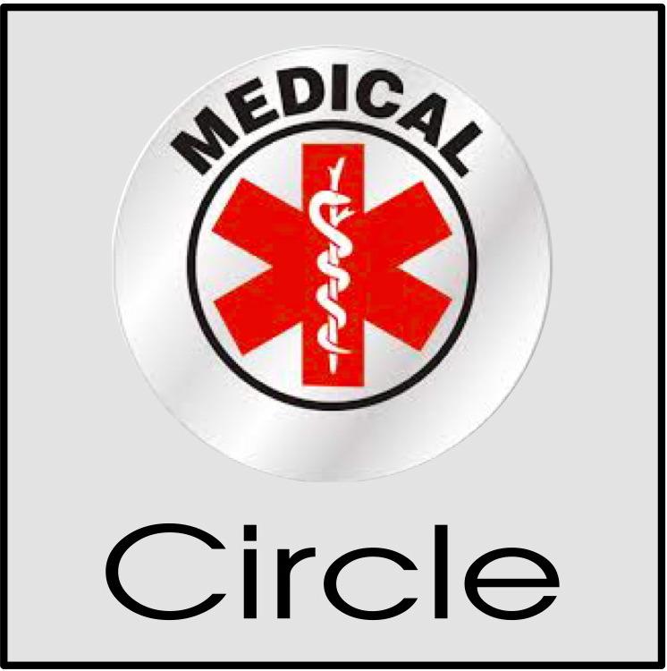 Circle custom sticker printing Glendale