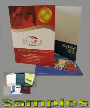 presentation folder printing glendale