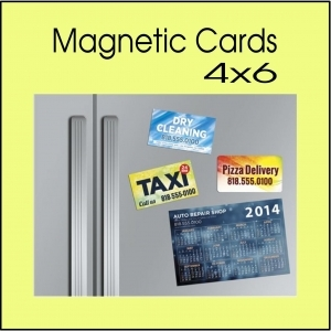magnetic card printing service 4 x 6 - Glendale