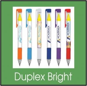 custom printed -duplex bright pens glendale