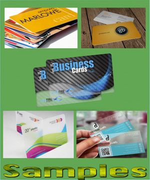 deluxe glossy business cards