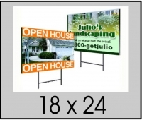 full color yard signs printing