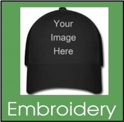 custom printed hats Glendale