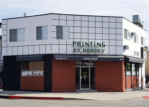 printing services Glendale CA