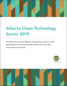 Alberta Clean Technology Sector 2019