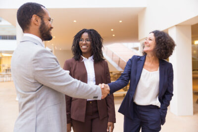 Teaming for government contracting