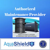 AquaShield Authorized maintenance provider badge