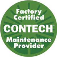 Factory Certified CONTECH Maintenance Provider badge