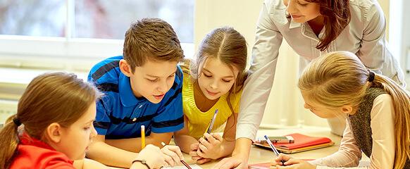 Group of Children in School