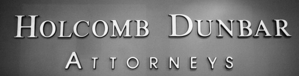 Holcomb Dunbar North Mississipi Attorneys