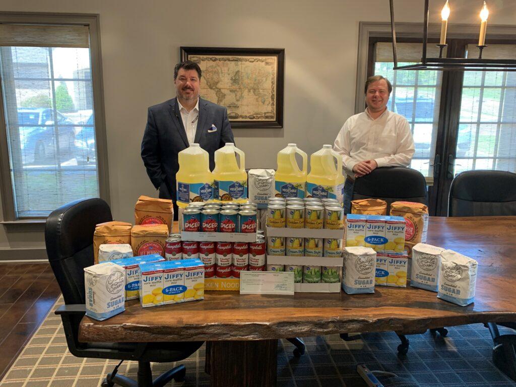 Holcomb Dunbar Attorneys Donates to Food PantryCOVID-19