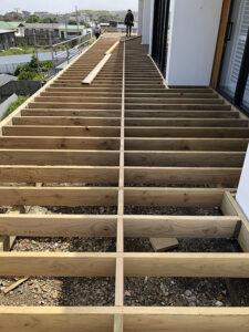 Deck subfloor