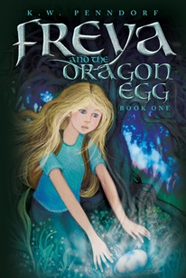 Freya and the dragon egg book cover