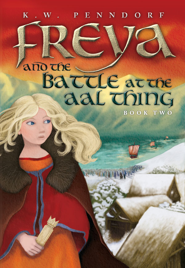freya and the battle at the aal thing book cover