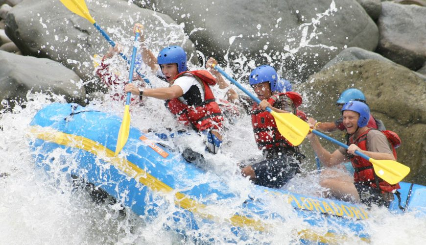 The Pacuare Rafting River