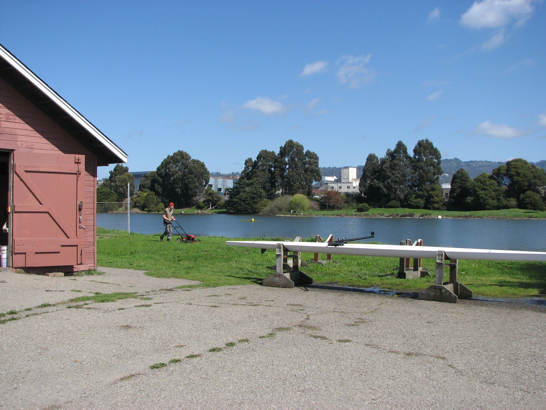 mowing_lawn_BPRC_boathouse