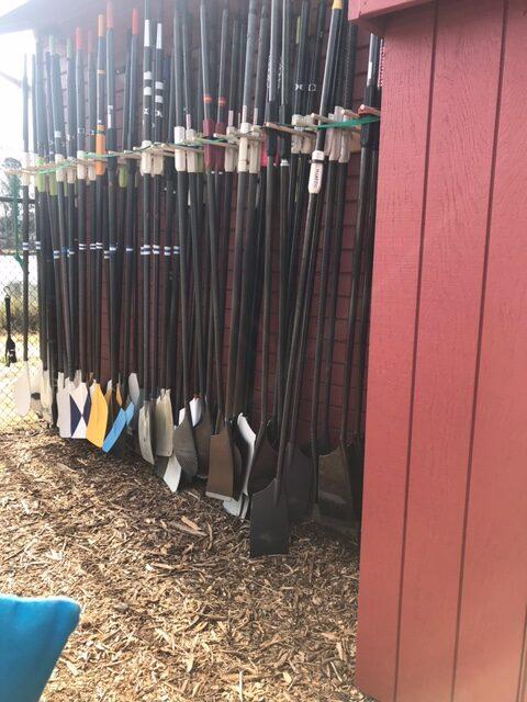 new oar rack