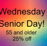 Wednesday Senior Day